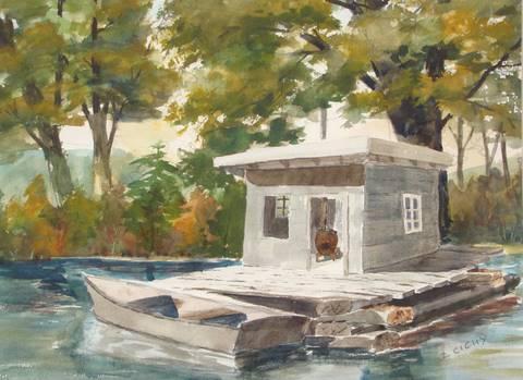Fishermans shack